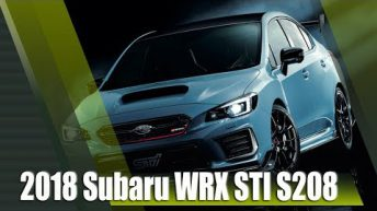 2018 Subaru WRX STI S208 Limited Edition JDM Only