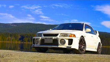 400 HP JDM Lancer Evo 5   Daily Boosted Pizza?!