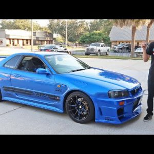 Driving An R34 Skyline Gtr In The Usa Jdm Imports 101