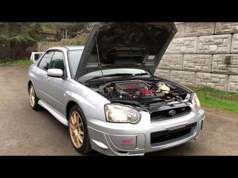 JDM 2003 Subaru Impreza STI 6 Speed manual Peanut Eye