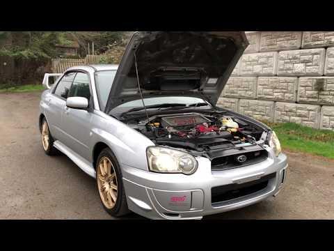 JDM 2003 Subaru Impreza STI 6 Speed manual Peanut Eye