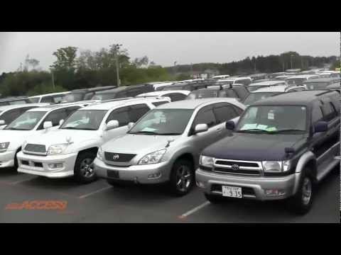 Japanese Used Car Auctions Explained - Part A