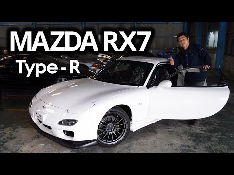 Mazda RX7 TYPE-R for sale JDM EXPO (8691