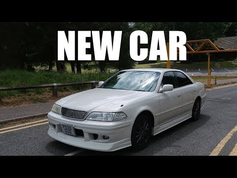 My new car. Toyota Mark 2 JZX100 JDM Import