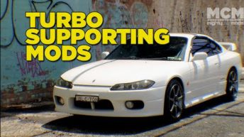 Nissan S15 Silvia Turbo Supporting Mods