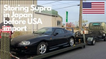 Supra delivery to USA. Storing car in Japan until USA import legal