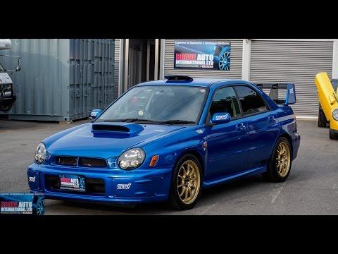 Test Drive - 2002 Subaru WRX STi Prodrive Edition - Japanese Car Auctions