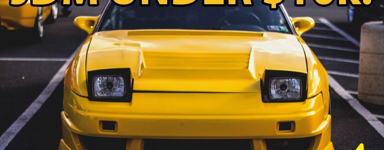 Top 10 JDM Cars Under $10