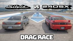 TURBO VS NA! Nissan 240SX S14 VS Silvia S15